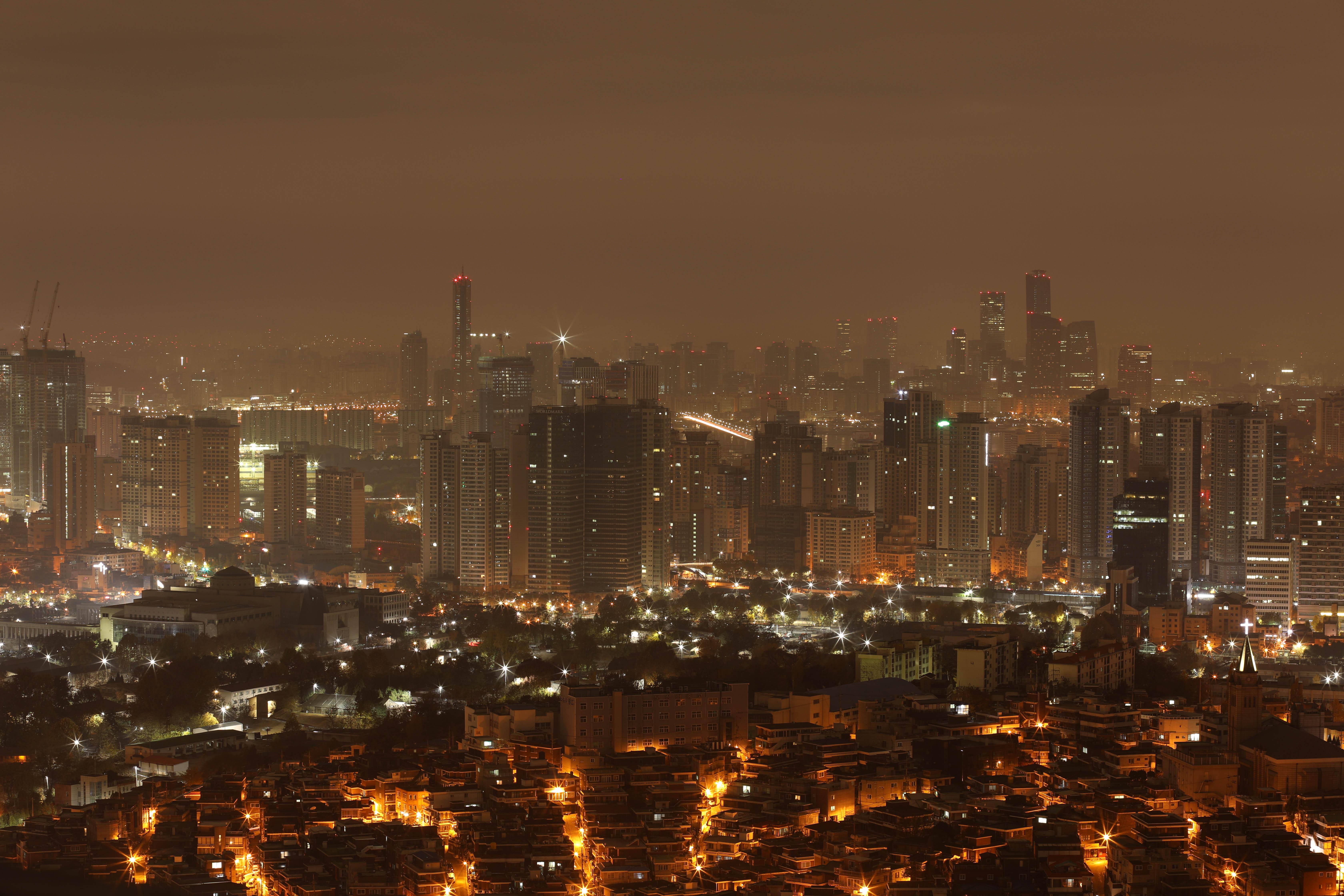 November - Seoul Dawn