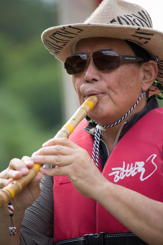 September- Flute Player