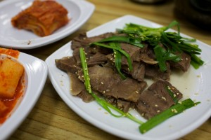 Boiled Pork, with Kimchee
