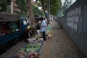 Street vendors @ 35mm
