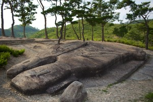 """The largest Unjusa Wabul or """"Buda lying down."""" One of a kind statue, and Korean national Treasure."""