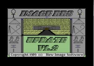 Image BBS v1.2 boot screen