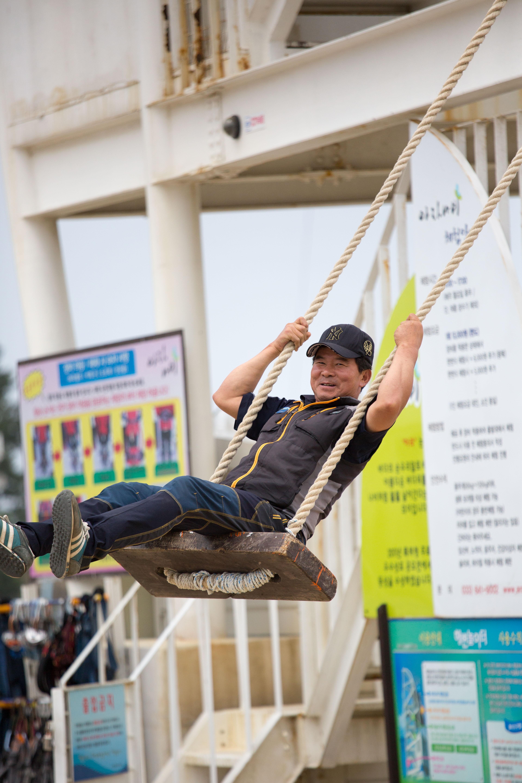 Man On Swing-1