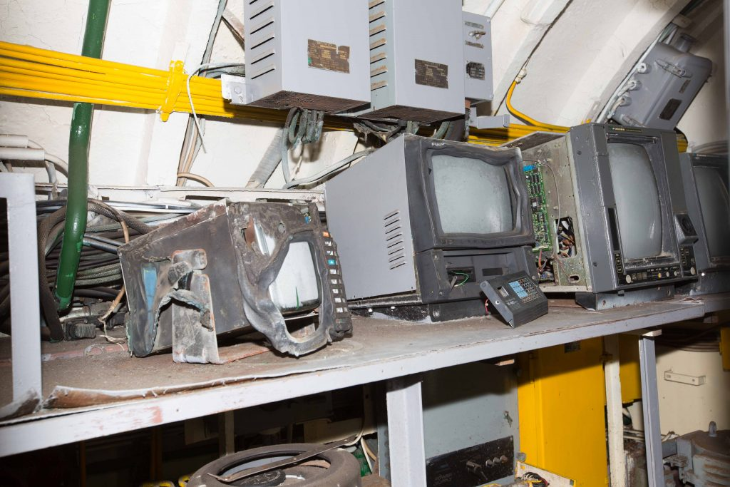 Old electronic equipment