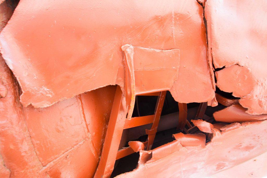 Submarine damage 2