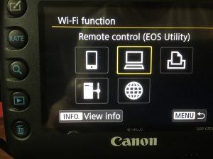 WiFi Pairing The Canon 5D Mark IV - Brent's World