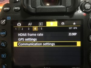 WiFi Pairing The Canon 5D Mark IV - Brent's World